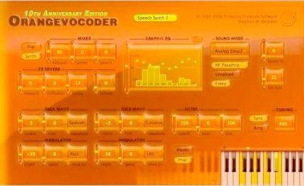 Orange Vocoder скачать - фото 10