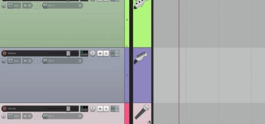 раскрашивание треков в рипер