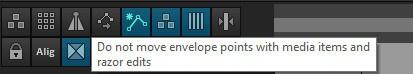 Как в Reaper выключить автоматизацию на треках, чтобы не мешали